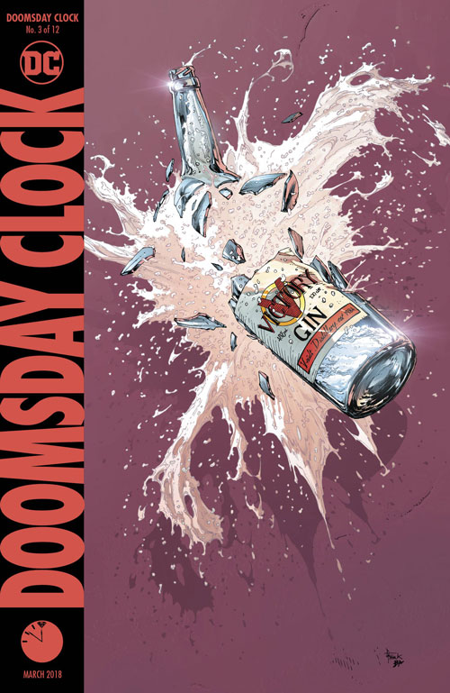 DC Entertainment's Doomsday Clock #3