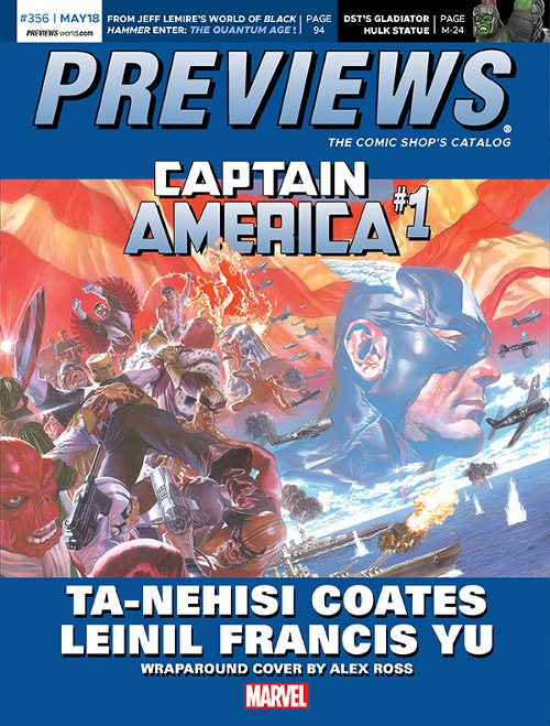 Front Cover -- Marvel Comics' Captain America #1